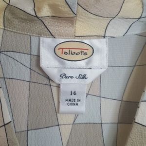 Talbots Tops - Talbots Silk Blouse